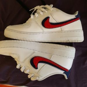 Nike Shoes - Red white & blue nike air forces